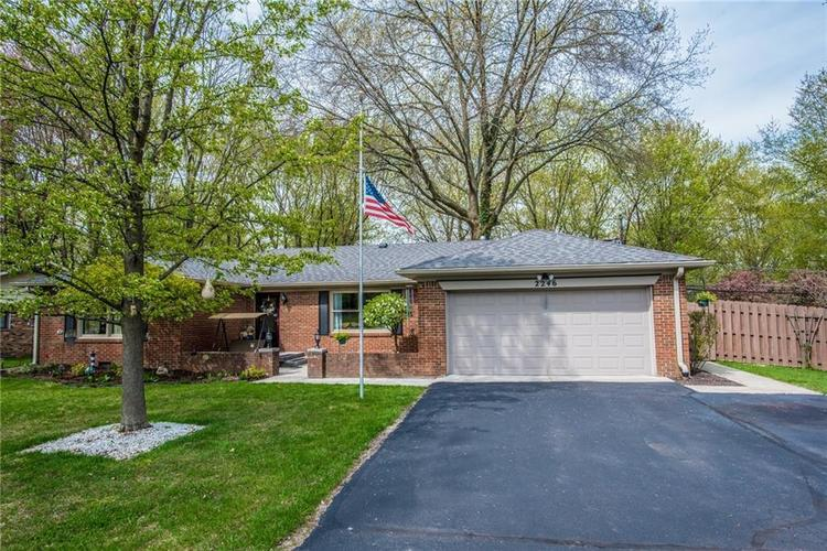 2246 Country Club Road Indianapolis IN 46234 | MLS 21705699 | photo 1