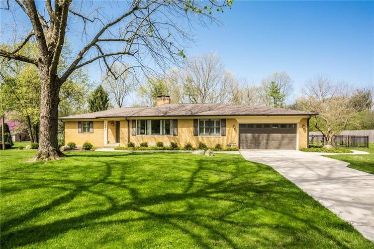 7980 MEADOWBROOK Drive Indianapolis IN 46240 | MLS 21706358 | photo 1