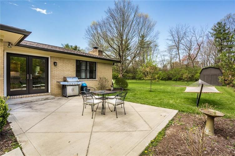 7980 MEADOWBROOK Drive Indianapolis IN 46240 | MLS 21706358 | photo 40
