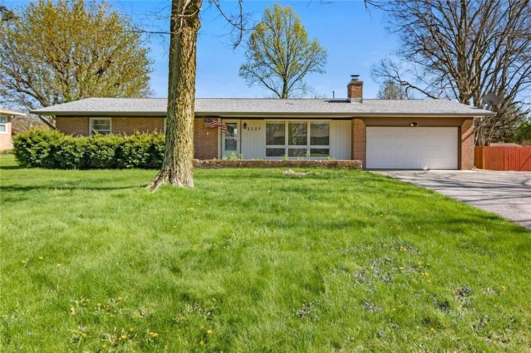 2127 Redfern Drive Indianapolis IN 46227 | MLS 21706453 | photo 1
