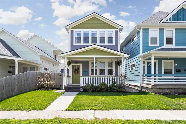 1819 Woodlawn Avenue Indianapolis IN 46203 | MLS 21707029 | photo 1