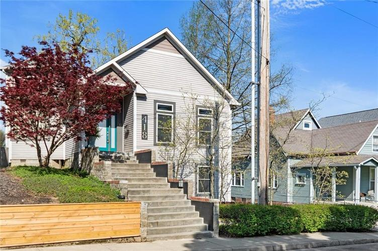 418 N HIGHLAND Avenue Indianapolis IN 46202 | MLS 21707299 | photo 2