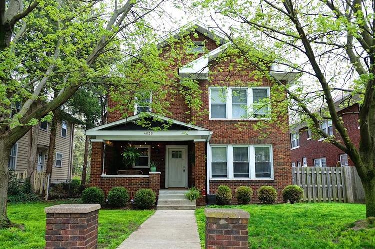 4039 Central Avenue Indianapolis IN 46205 | MLS 21707516 | photo 1