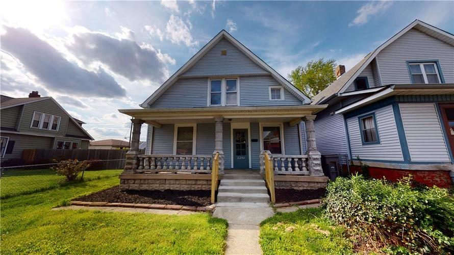 2254 BROOKSIDE Avenue Indianapolis IN 46218   MLS 21707719   photo 1