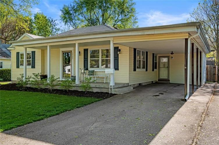 5727 Rosslyn Avenue Indianapolis IN 46220 | MLS 21708408 | photo 1