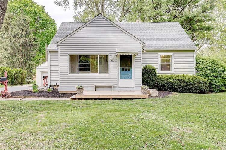 2028 Burch Drive Indianapolis IN 46220 | MLS 21708450 | photo 2