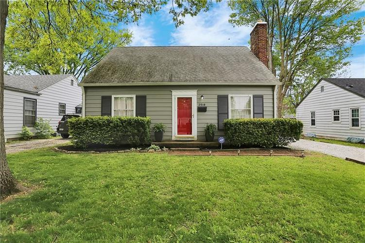 2519 Ryan Drive Indianapolis IN 46220 | MLS 21708721 | photo 1