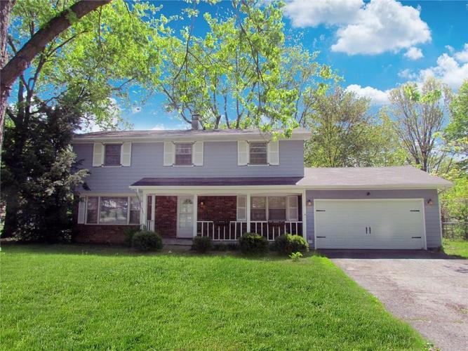 8105 SHOTTERY Terrace Indianapolis IN 46268 | MLS 21709280 | photo 1