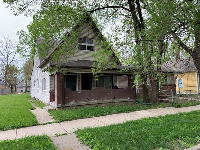 750 N Holmes Avenue Indianapolis IN 46222 | MLS 21709480 | photo 1