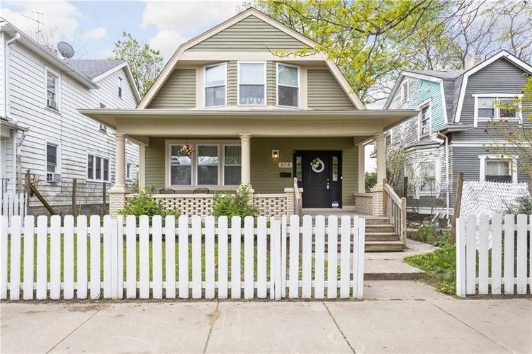 614 N Jefferson Avenue Indianapolis IN 46201 | MLS 21709936 | photo 1