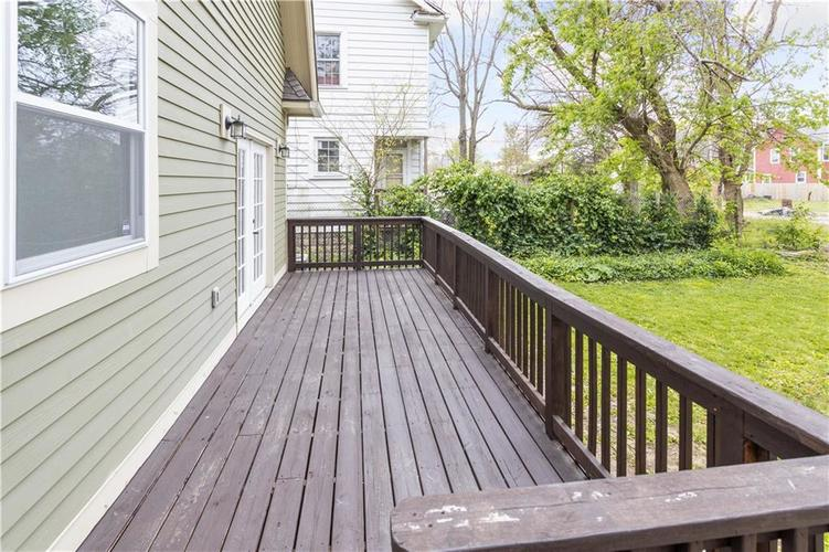 614 N Jefferson Avenue Indianapolis IN 46201 | MLS 21709936 | photo 16