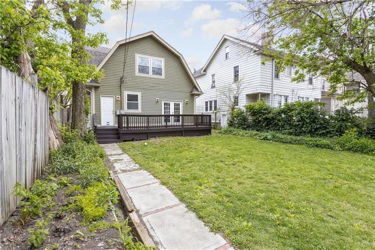 614 N Jefferson Avenue Indianapolis IN 46201 | MLS 21709936 | photo 17