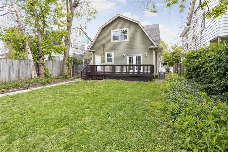 614 N Jefferson Avenue Indianapolis IN 46201 | MLS 21709936 | photo 18