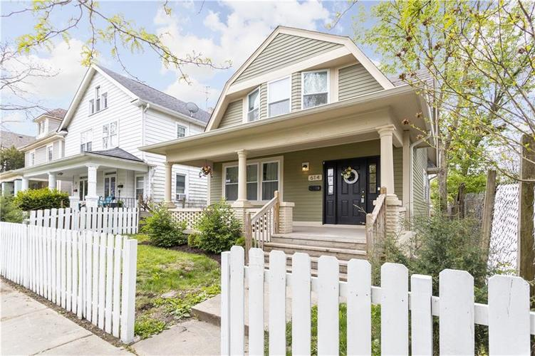 614 N Jefferson Avenue Indianapolis IN 46201 | MLS 21709936 | photo 2