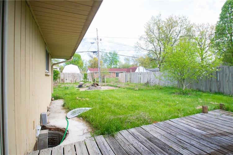 6833 HI VU Drive Indianapolis IN 46227 | MLS 21710112 | photo 27