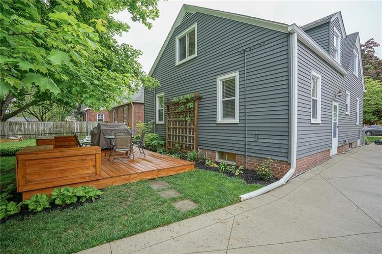 6038 Haverford Avenue Indianapolis IN 46220 | MLS 21710647 | photo 41