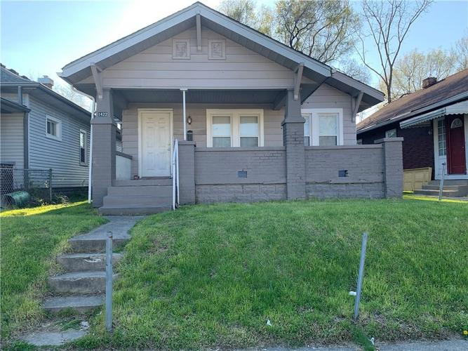 1422 KING AVENUE Indianapolis IN 46222   MLS 21710975   photo 1