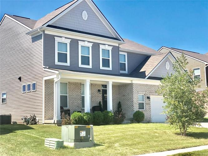 4424 Goose Rock Drive Indianapolis IN 46239 | MLS 21712032 | photo 2