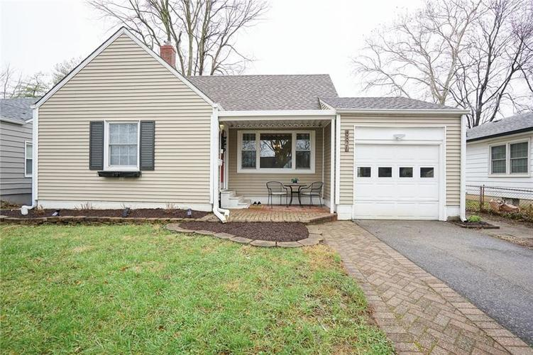 5821 Hillside Ave Indianapolis IN 46220   MLS 21714665   photo 1