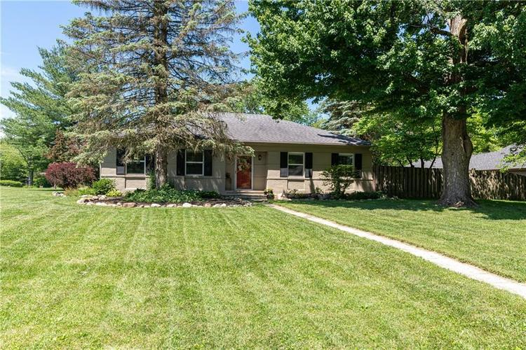 9502 BROADWAY Street Indianapolis IN 46240 | MLS 21717018 | photo 1