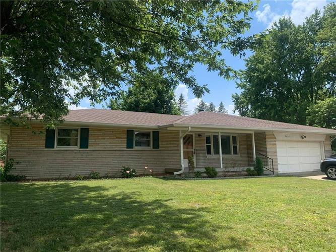 345  Ransdall Court Indianapolis, IN 46227 | MLS 21720486