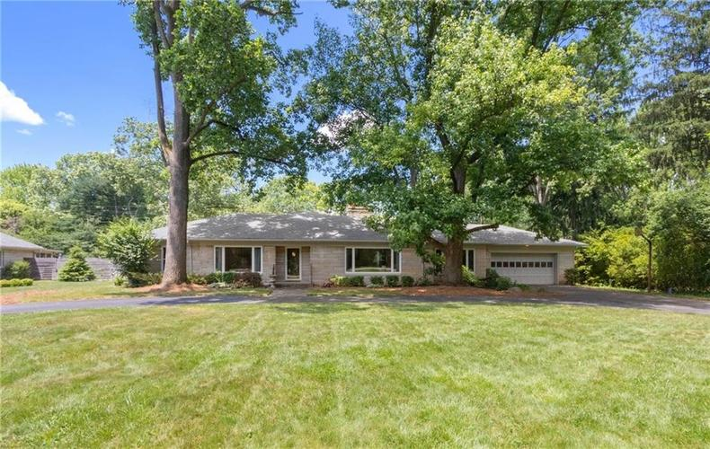 6330 Spring Mill Road Indianapolis IN 46260 | MLS 21720835 | photo 1