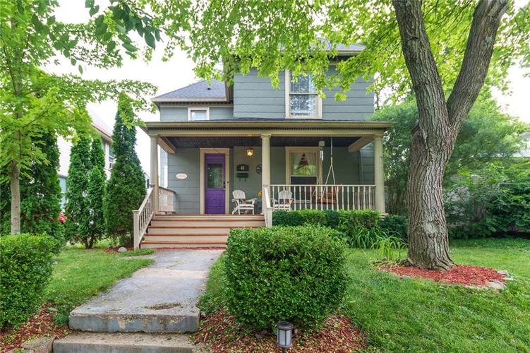 41 S Spencer Avenue Indianapolis IN 46219 | MLS 21722245 | photo 1