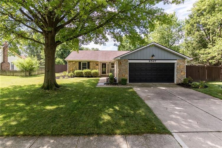 8567  Scarsdale Drive Indianapolis, IN 46256   MLS 21726511