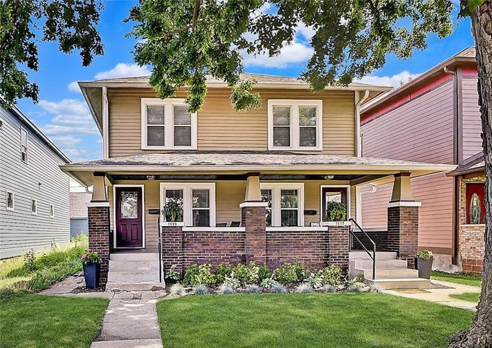 1619 Carrollton Avenue Indianapolis IN 46202 | MLS 21729099 | photo 1