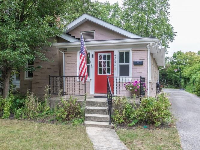 6264 N Central Avenue Indianapolis, IN 46220 | MLS 21738046