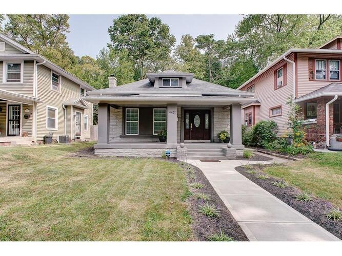 4421 N College Avenue Indianapolis, IN 46205 | MLS 21739125