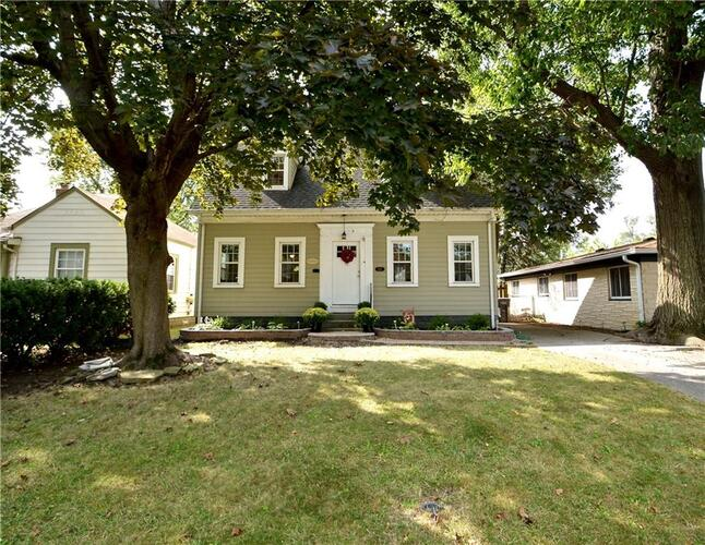 5127 E 9th Street Indianapolis, IN 46219 | MLS 21739296
