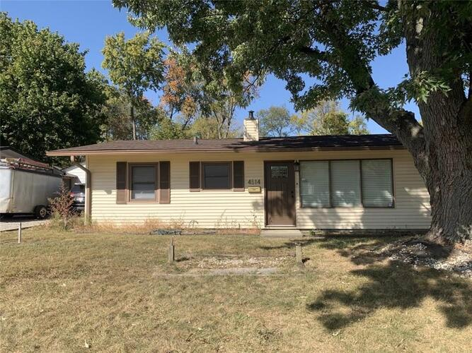 4514  Thrush Drive Indianapolis, IN 46222 | MLS 21745171