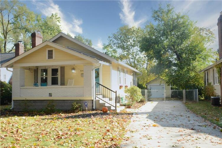 6447 N BROADWAY Street Indianapolis, IN 46220 | MLS 21747122