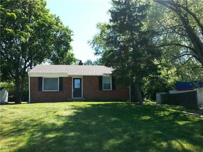 8731  CRAWFORDSVILLE Road Clermont, IN 46234 | MLS 21748568