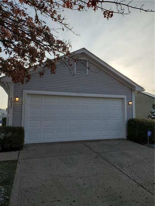 4037 W EAGLE COVE Drive Indianapolis, IN 46254   MLS 21757892