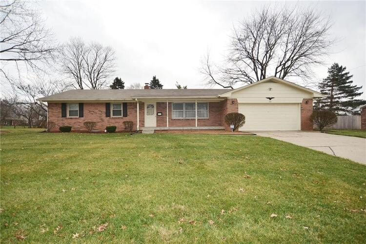 1821 E Crossman Drive Indianapolis, IN 46227 | MLS 21758120