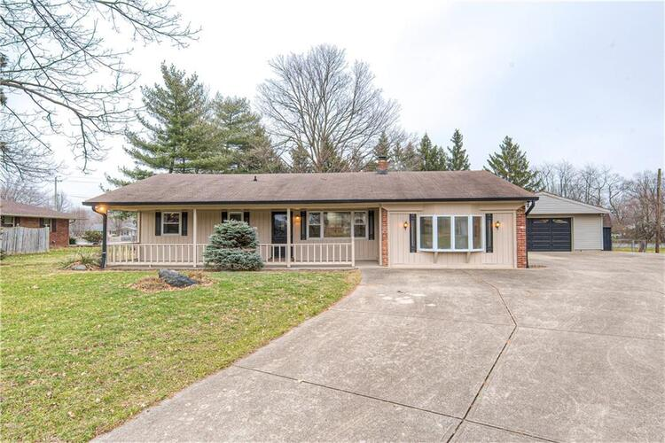 8115 S Pann Court Indianapolis, IN 46217 | MLS 21759289
