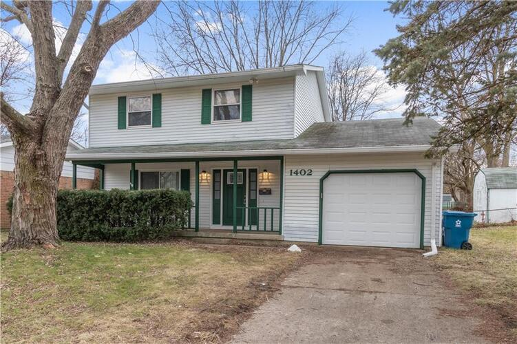 1402  Greenbrook Drive Indianapolis, IN 46229 | MLS 21759877
