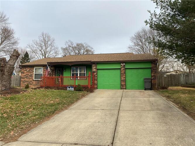 7519  Turnberry Court Indianapolis, IN 46237   MLS 21760649