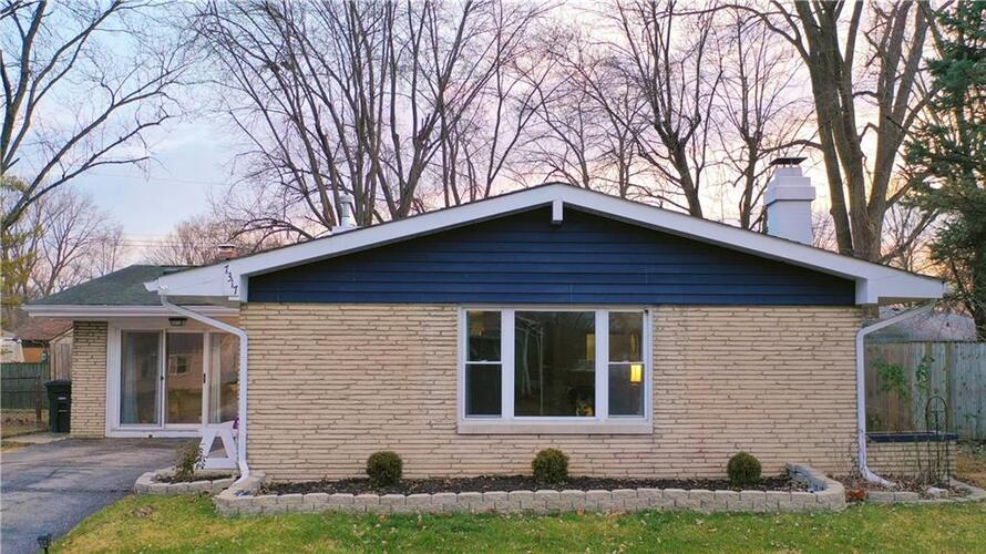 7317 E 50th Street Indianapolis, IN 46226 | MLS 21760780