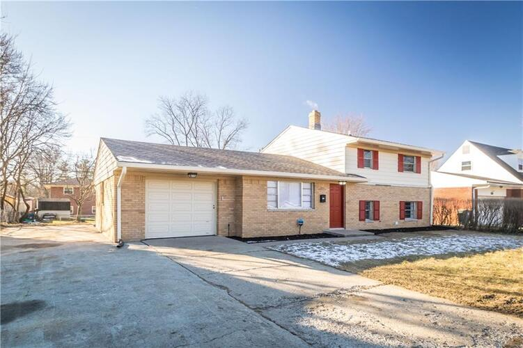6723 E 46th Street Indianapolis, IN 46226 | MLS 21762542