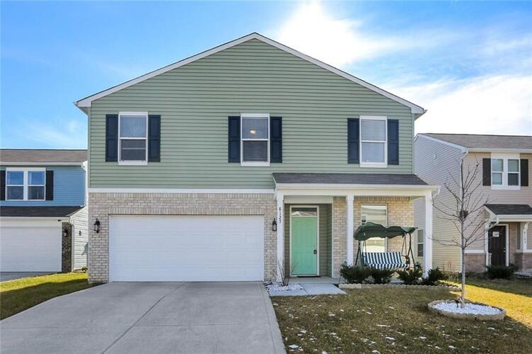 8127  Fisher Bend Drive Indianapolis, IN 46239 | MLS 21762907