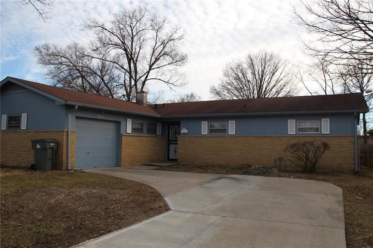 6641 E 46th Street Indianapolis, IN 46226 | MLS 21763022