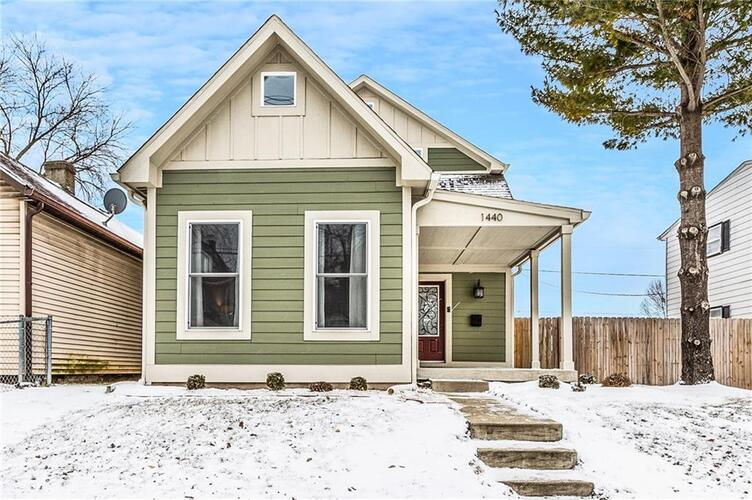 1440 S East Street Indianapolis, IN 46225 | MLS 21767503