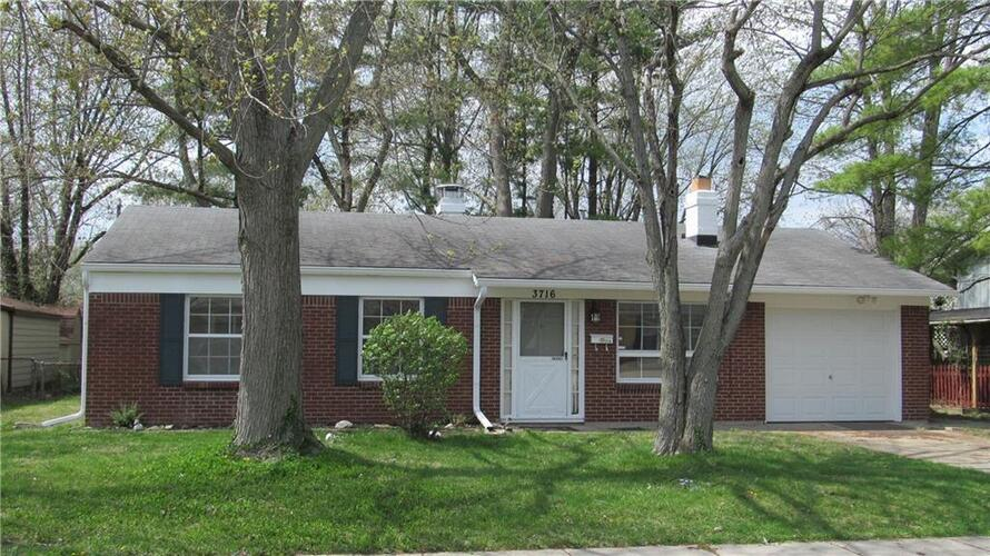 3716  Alsace Drive Indianapolis, IN 46226 | MLS 21770838