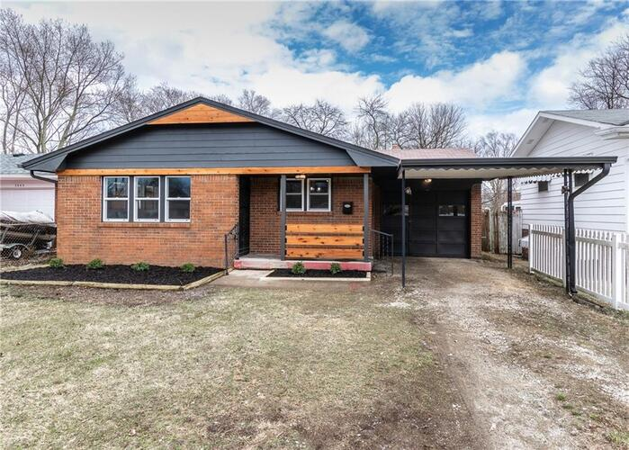 3841 N Whittier Place Indianapolis, IN 46226 | MLS 21771192