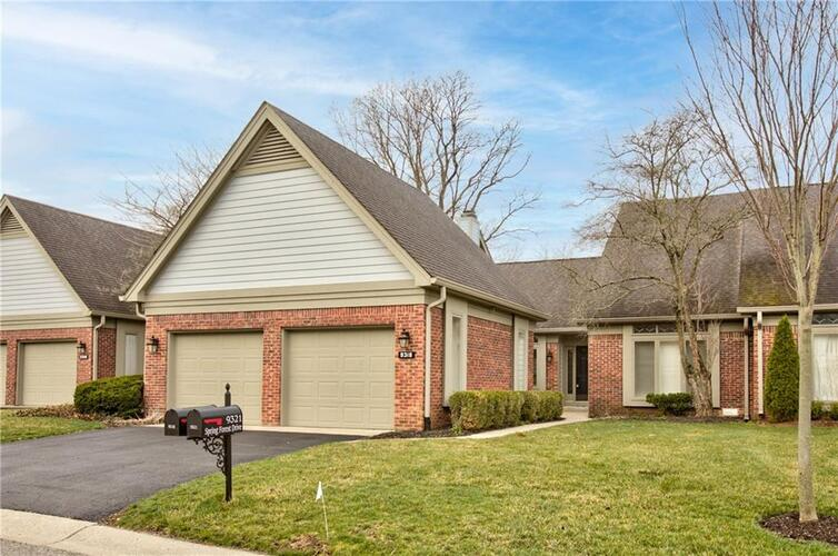 9318 W SPRING FOREST Drive Indianapolis, IN 46260 | MLS 21774097
