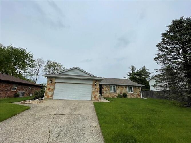 3302  Pinetop Drive Indianapolis, IN 46227 | MLS 21776084