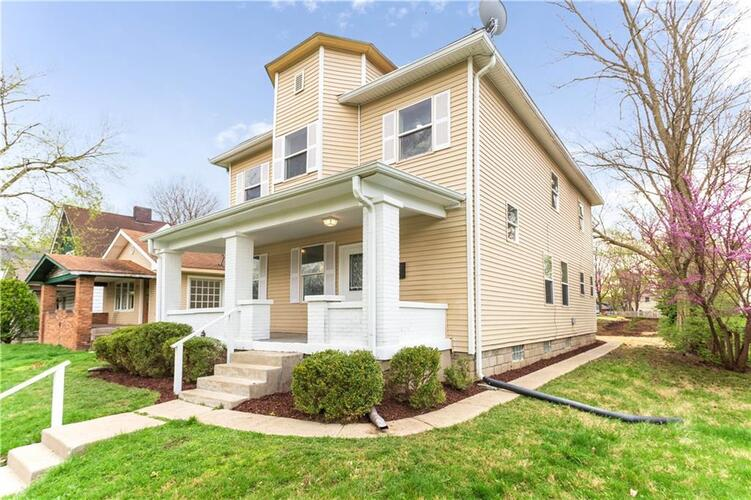120 S Spencer Avenue Indianapolis, IN 46219 | MLS 21777129